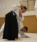 You can learn Aikido with harming others